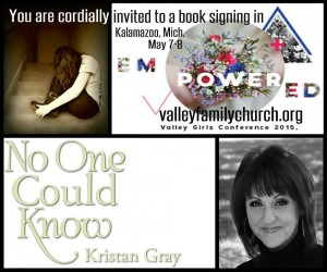 No One Could Know event invite VFC May 2015